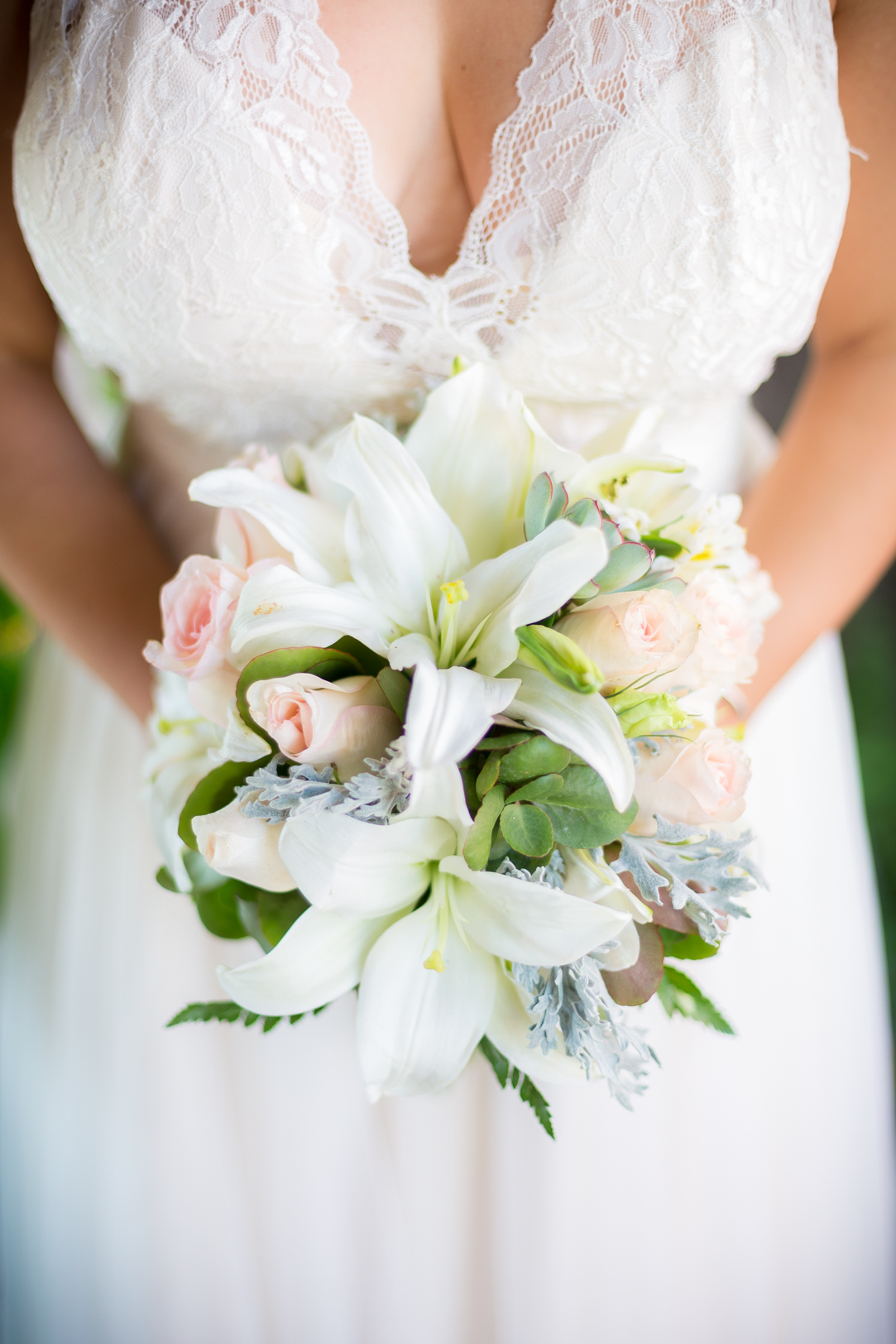 Bridal bouquet at Sunscape Dorado Pacifico Ixtapa destination wedding