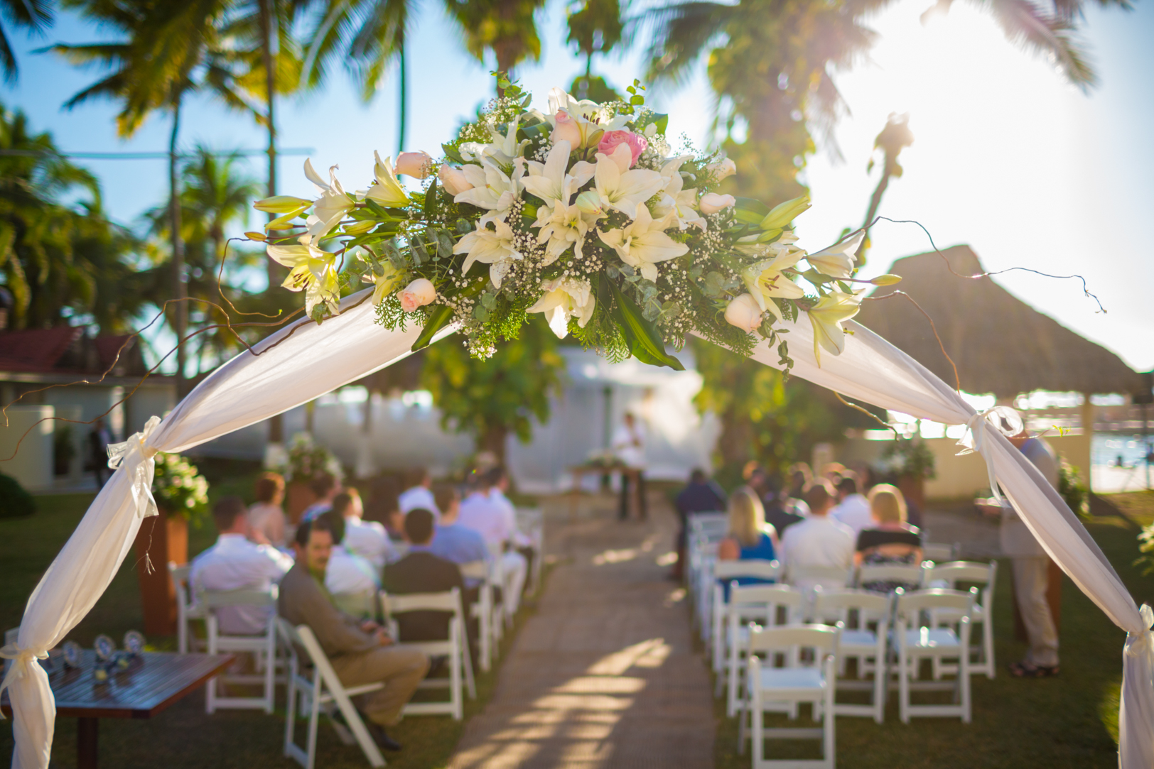 Sunscape Dorado Pacifico Ixtapa destination wedding decorations