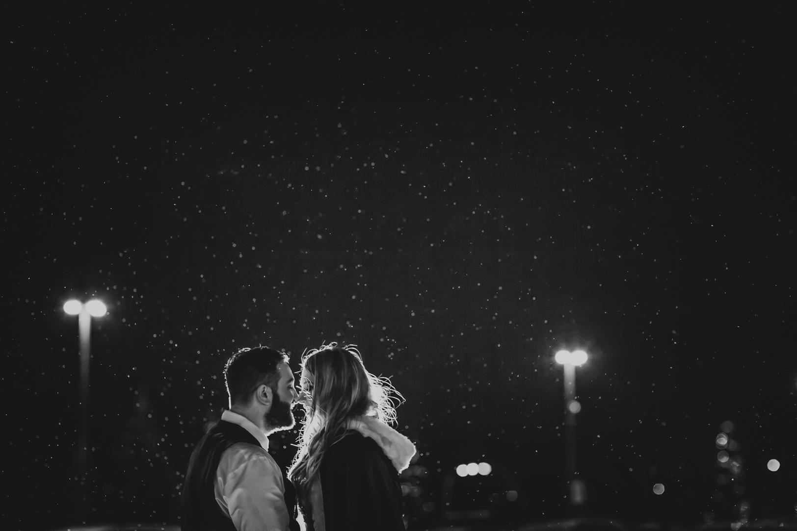 winter wedding photos edmonton - New Years Eve Wedding Edmonton