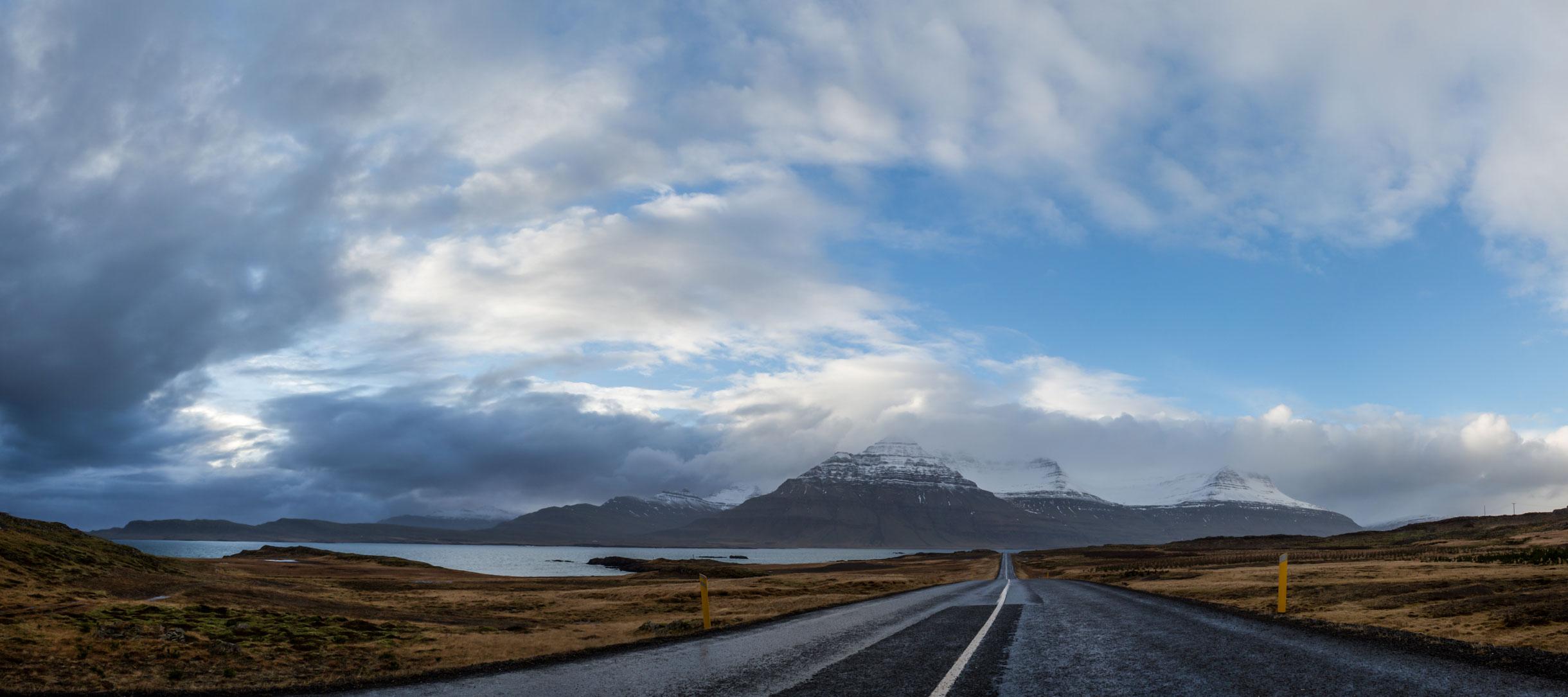 Driving eastern Iceland Hofn
