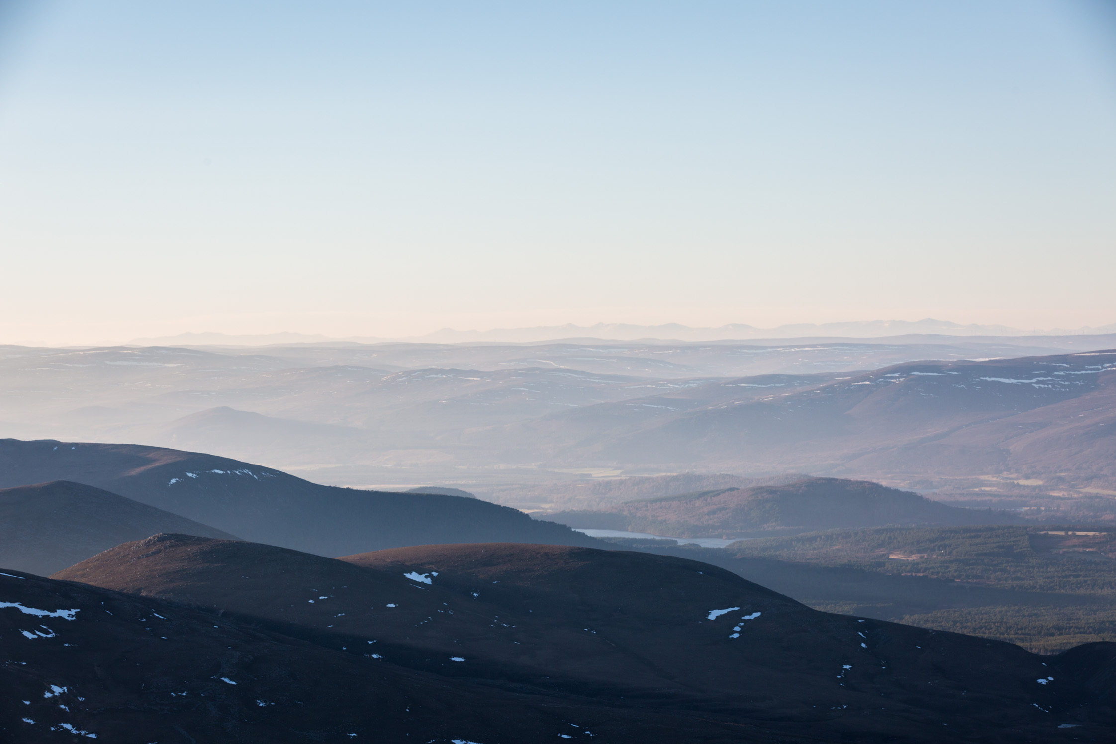 cairngorms national park view