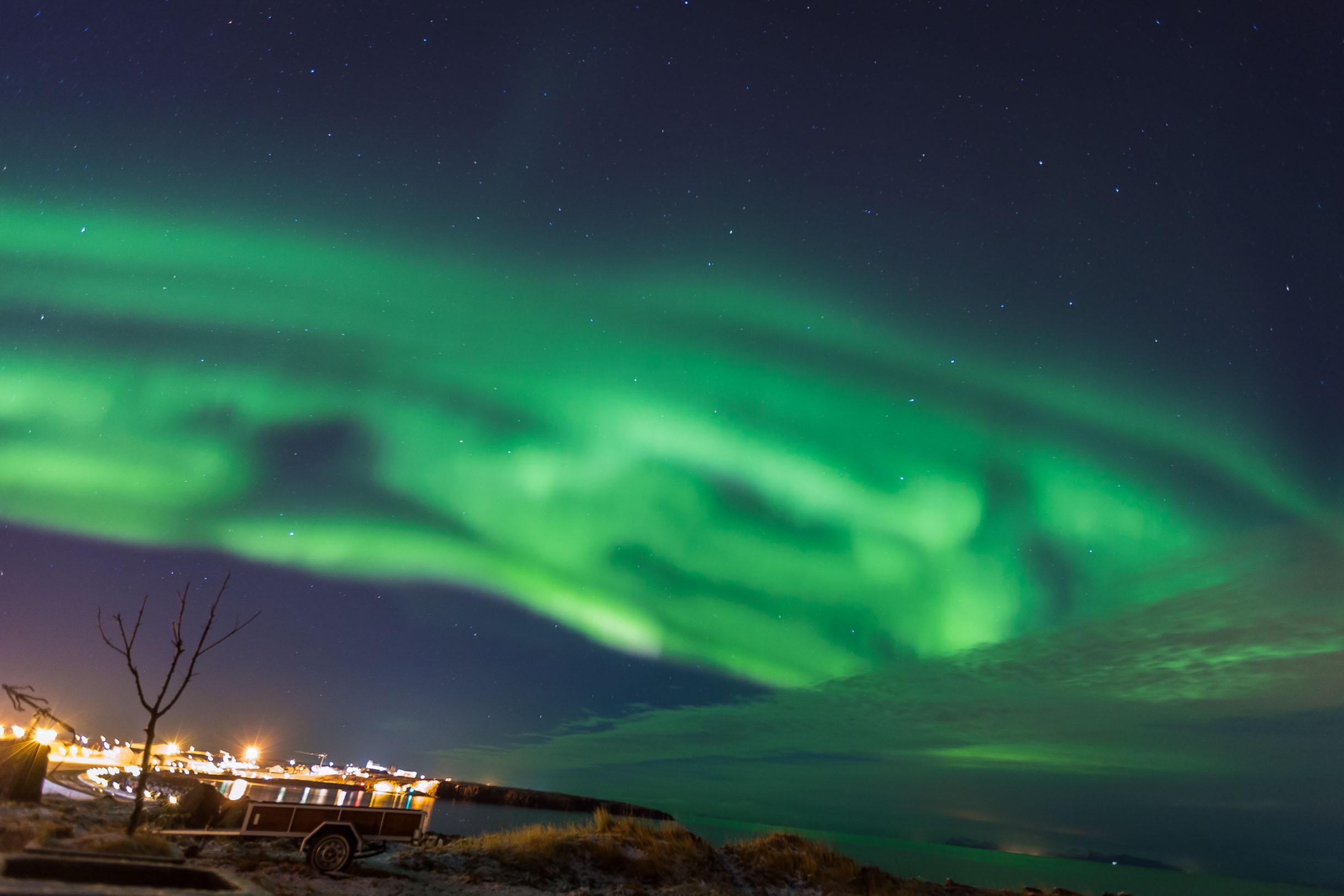 keflavik northern lights