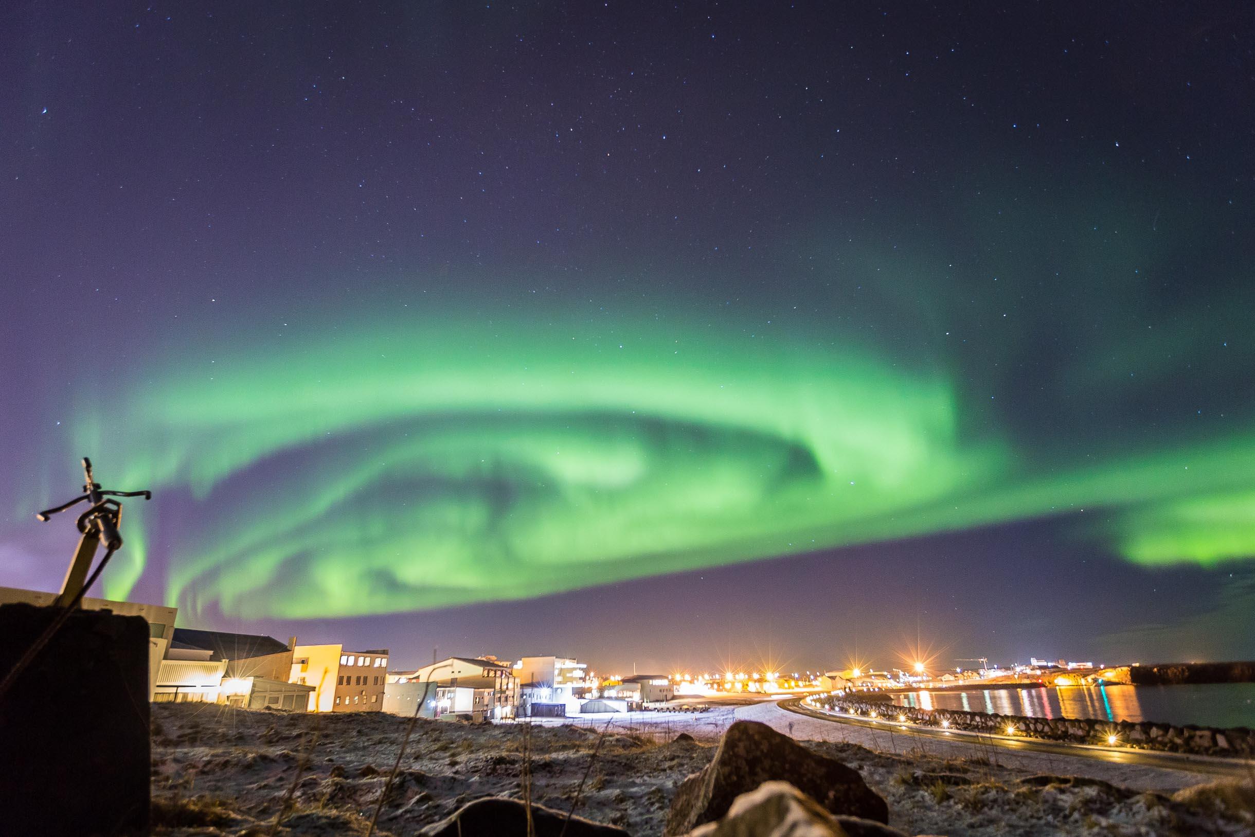 northern lights keflavik