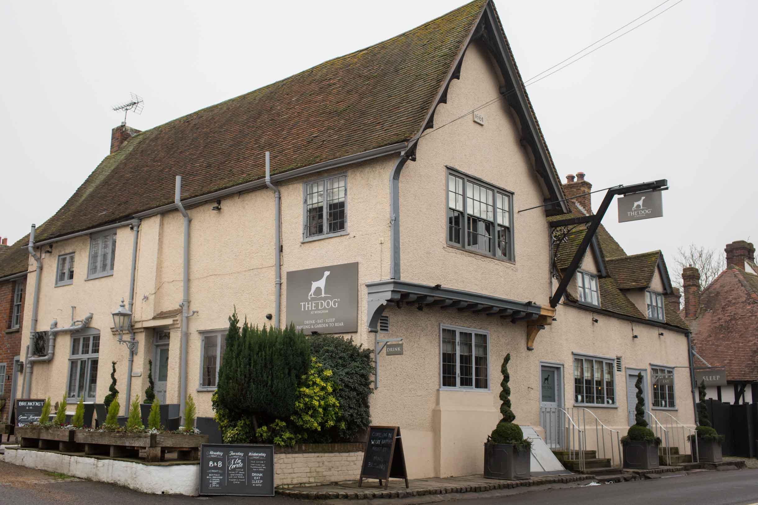 The Dog pub Wingham