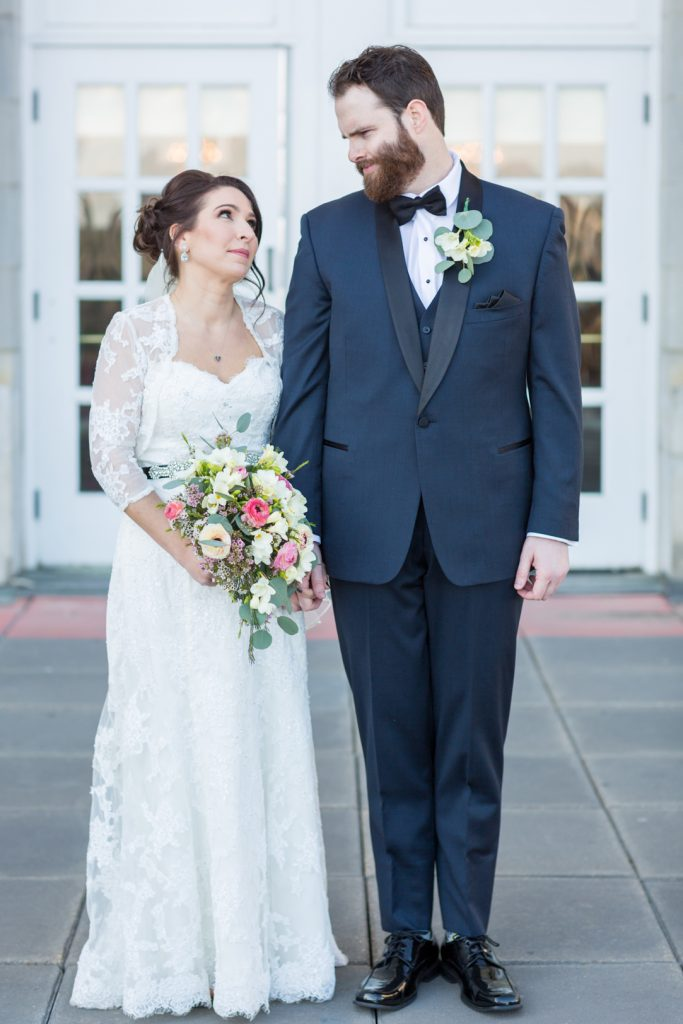 Edmonton Fairmont Wedding Portraits