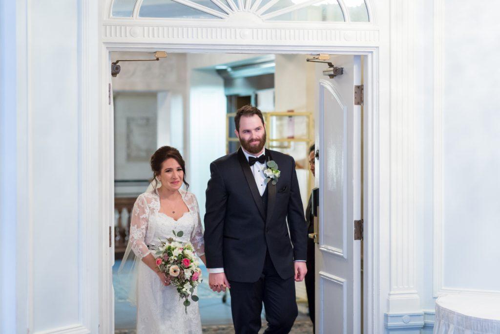 Edmonton fairmont hotel wedding ceremony and reception