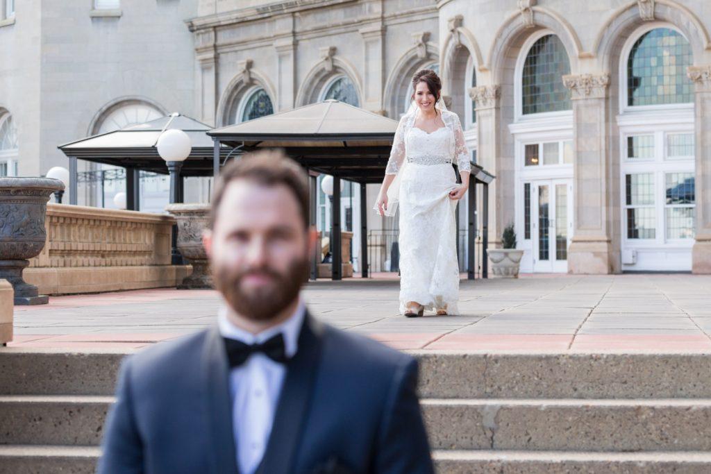 Hotel Macdonald wedding - first look