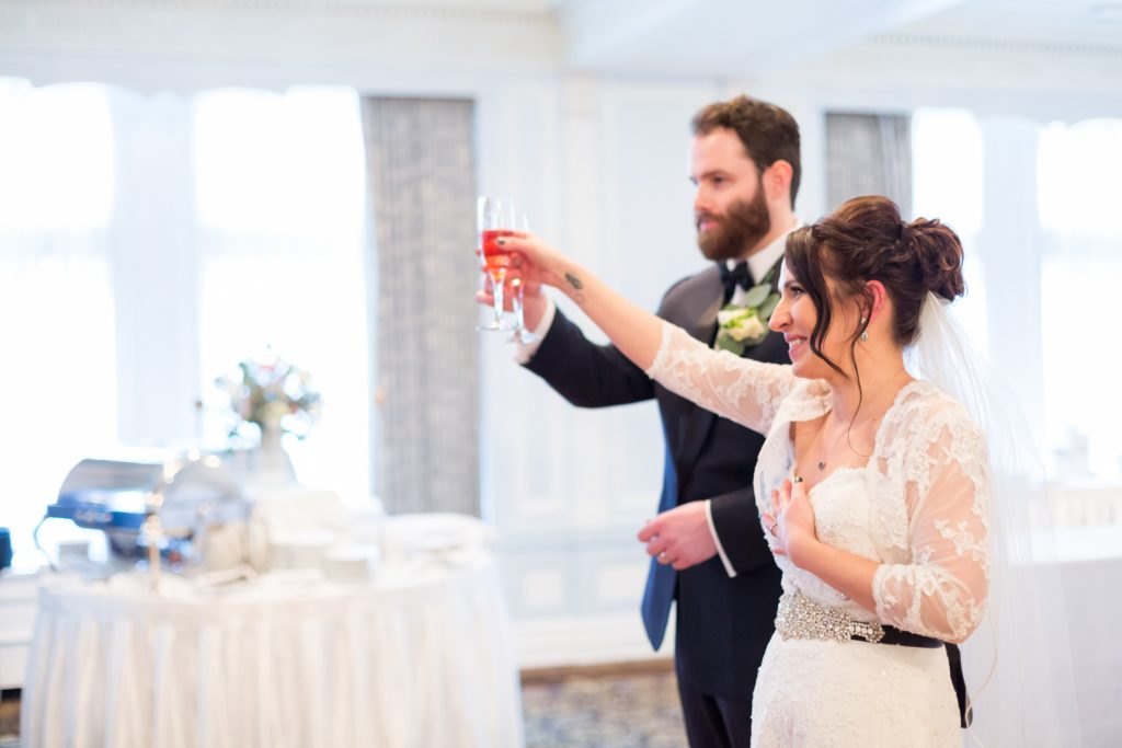 Edmonton fairmont hotel wedding