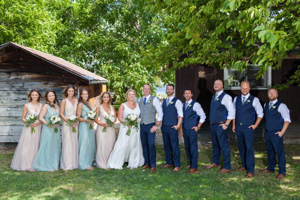 Gellatly nut farm wedding