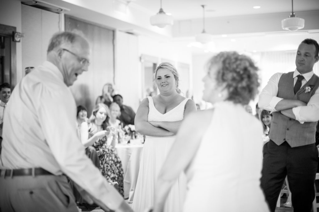 Fun parents dance