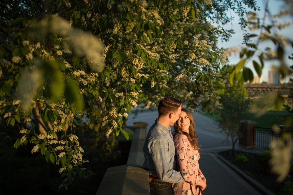romantic engagement photos edmonton