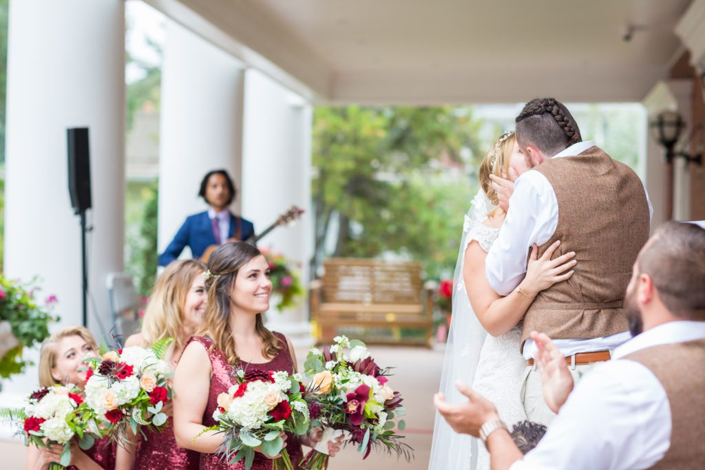 autumn outdoor wedding edmonton