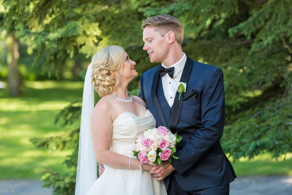 Outdoor wedding portrait locations edmonton
