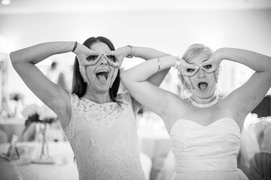 Bride during wedding dance
