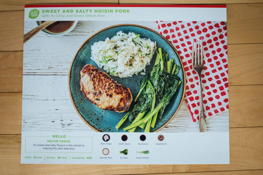 HelloFresh Food Box Delivery Review
