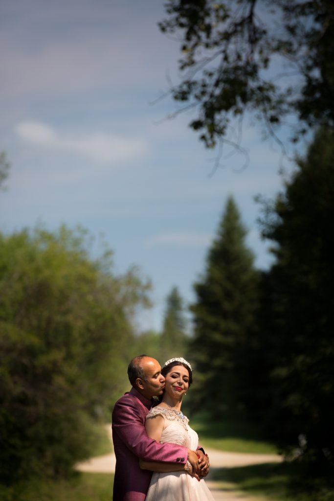 Moonlight Bay Centre wedding portraits