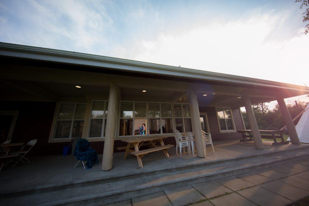 Indoor wedding reception venue at Moonlight Bay Centre