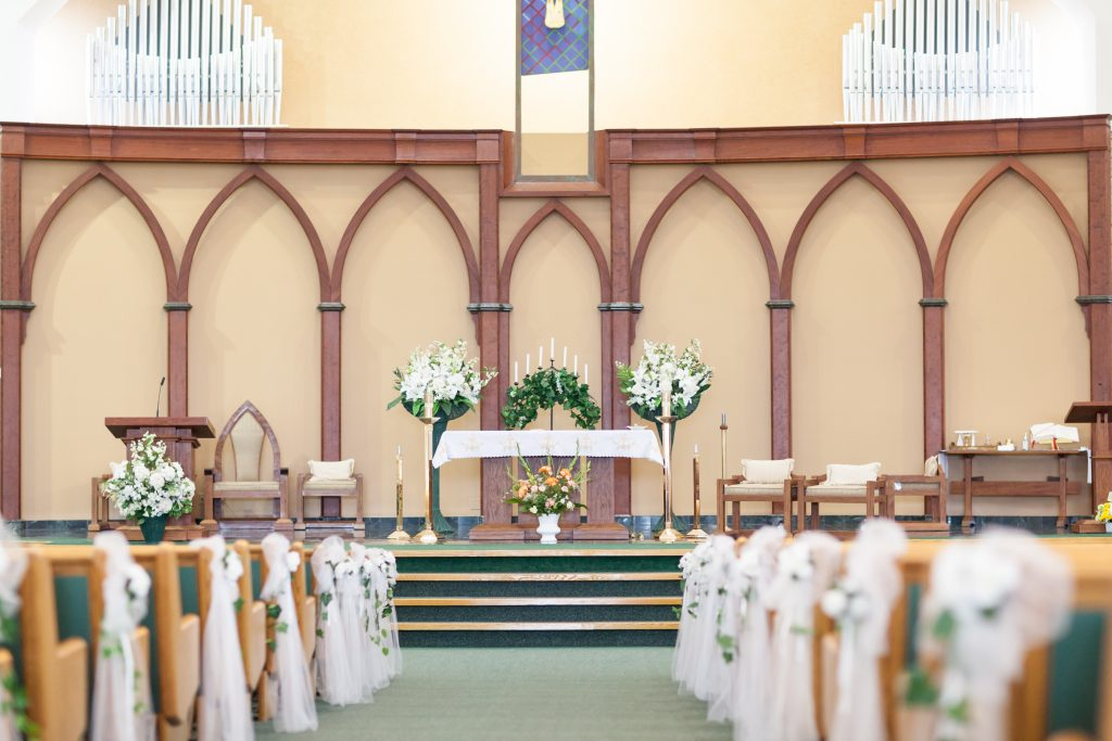 St Thomas More Church wedding ceremony location