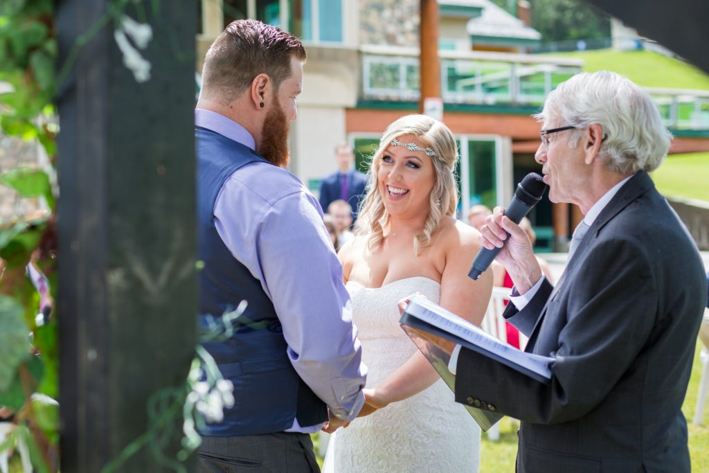 Snow Valley is a beautiful outdoor wedding venue for summer weddings