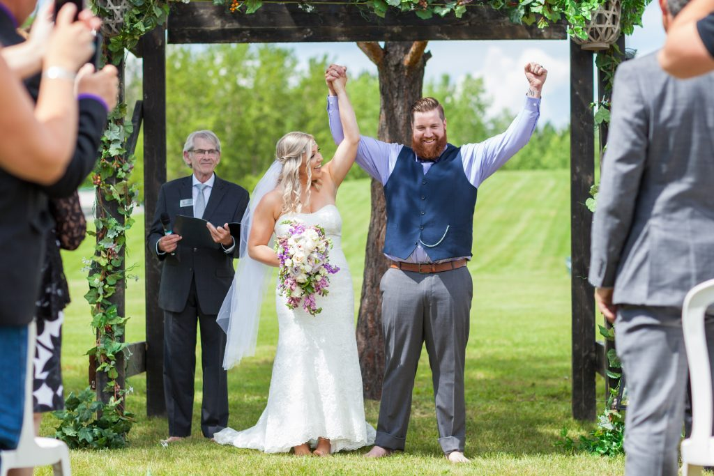 Deep Blue Photography at Snow Valley for a summer wedding