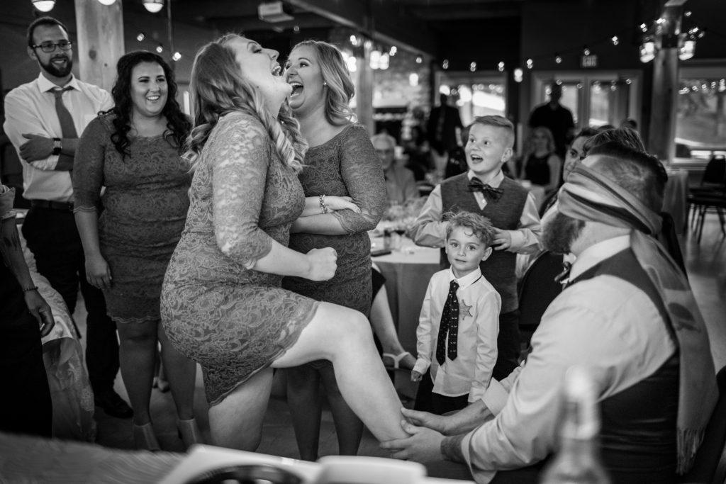 Wedding reception at Snow Valley