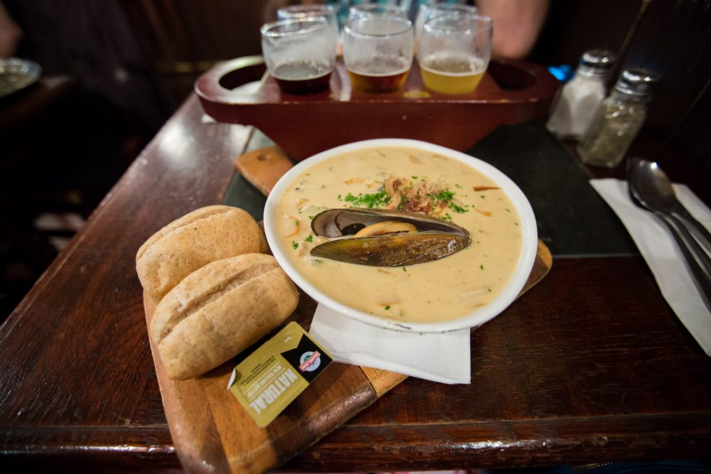 Lunch At The Occidental Belgian Beer Cafe in Auckland - Exploring Auckland