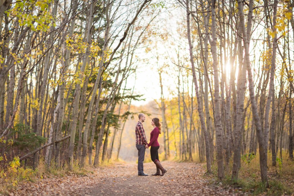 Edmonton Autumn Engagement Photographers