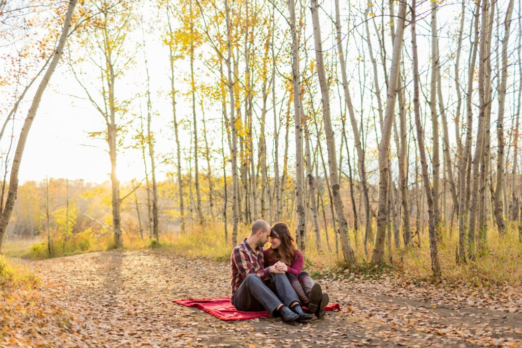 Edmonton engagement photo ideas