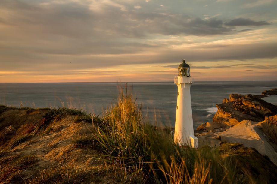 Castlepoint Lighthouse Sunrise Lake Ferry Sunset – Becoming Kiwi Day 5