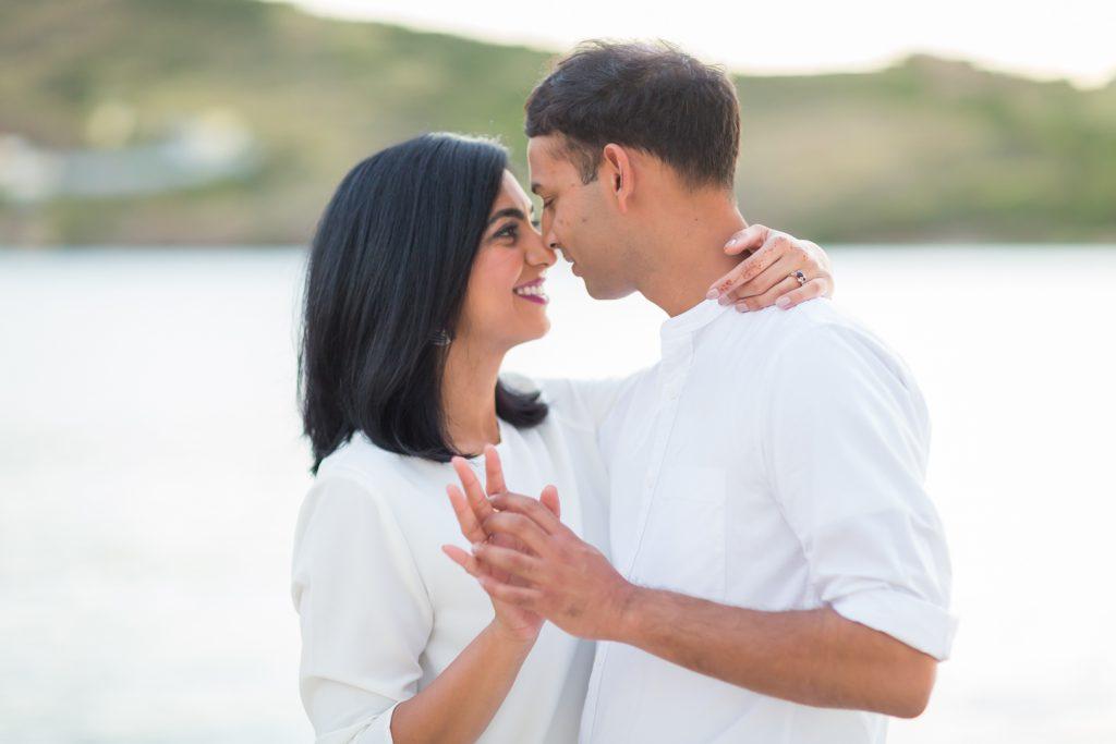 Romantic Antigua engagement photos