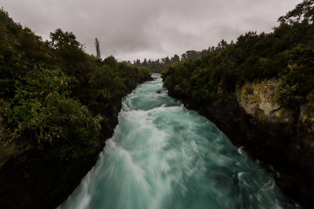 Driving Around The North Island Of New Zealand Waterfall