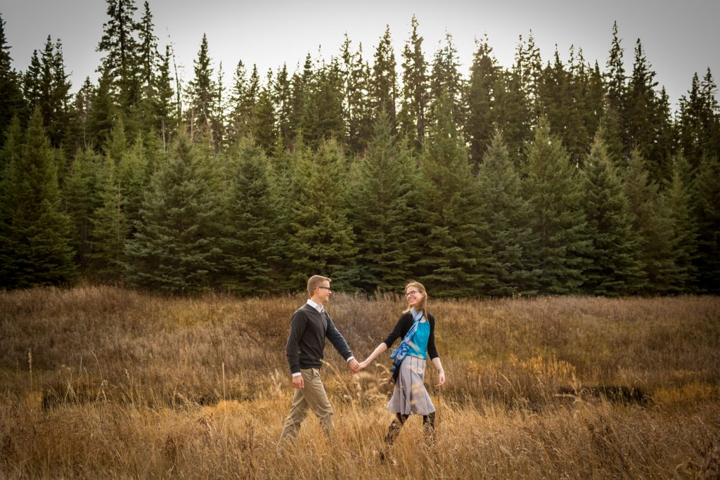 McTaggart Sanctuary engagement photo location
