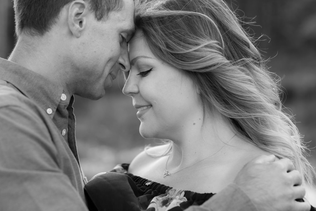 Elbow River Falls maternity photos
