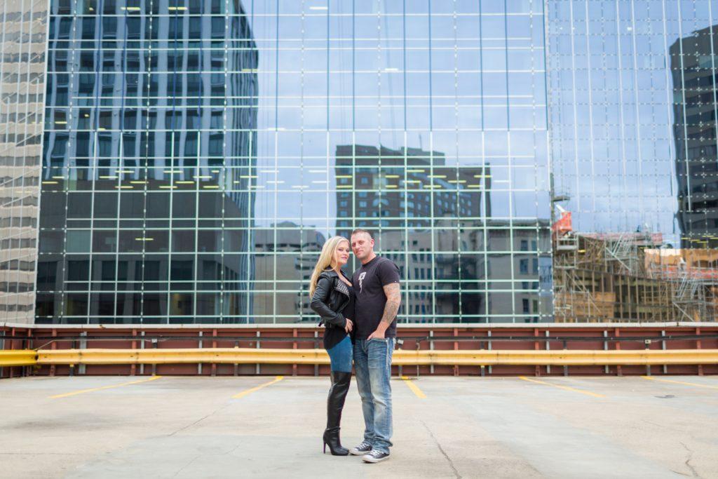 Edmonton engagement photographers downtown pictures