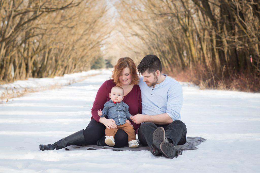 Edmonton Winter Family Photos