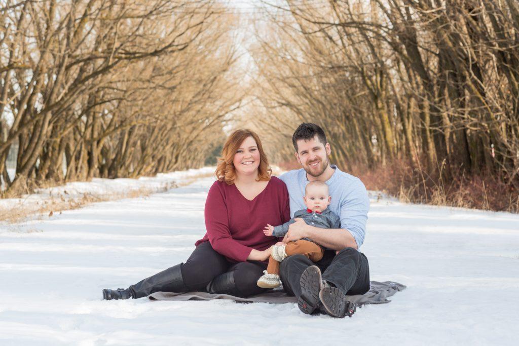 Edmonton Winter Family Pictures