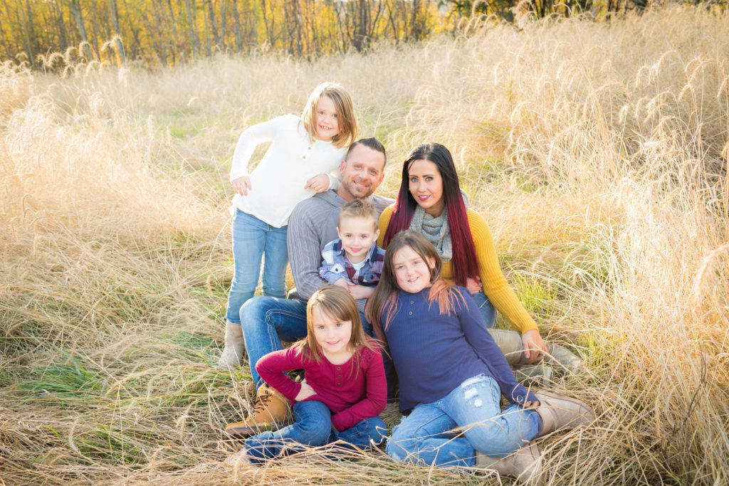 Family Engagement Portraits with Kids