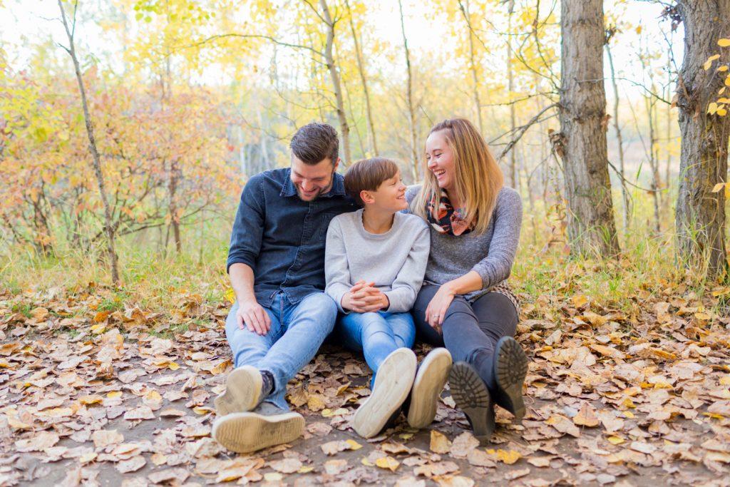 Edmonton Terwilliger Park family photos