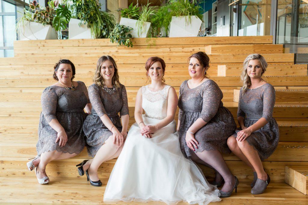 Mosaic Centre Wedding portrait indoor location