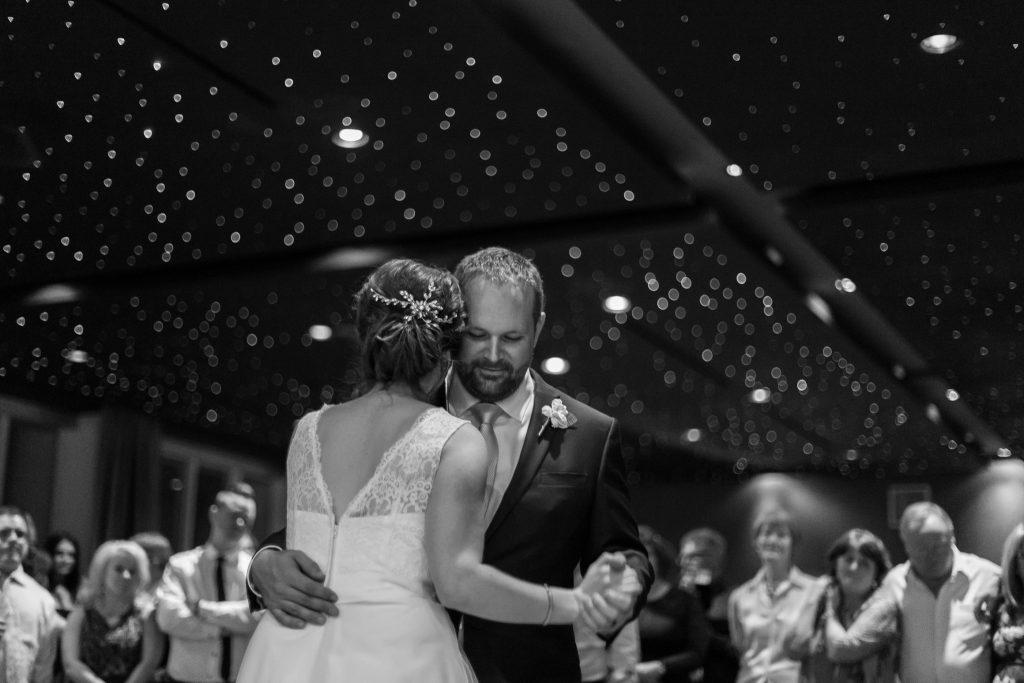 Delta Edmonton South wedding reception photos