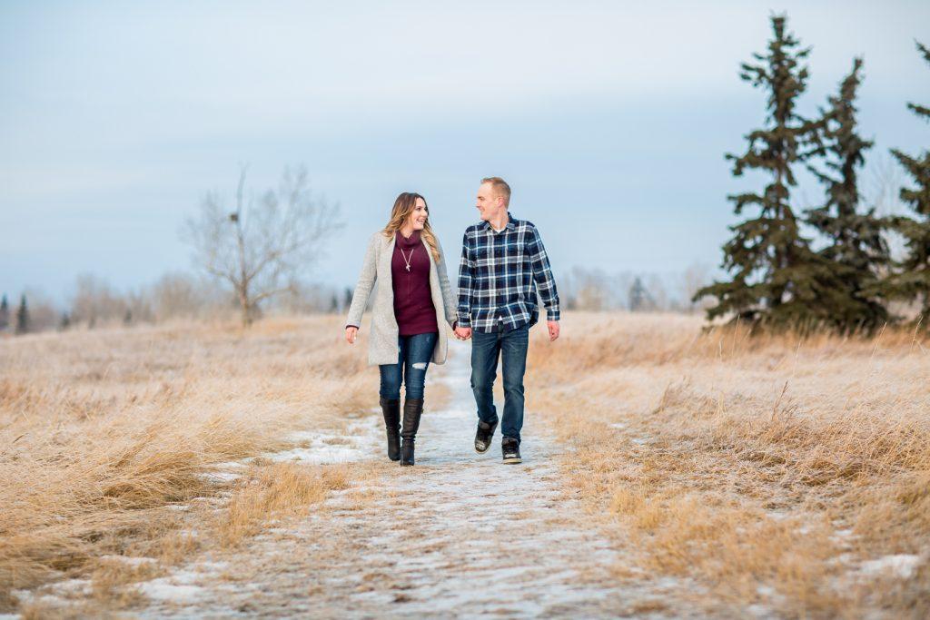 Edmonton wedding photographers outdoor winter photos