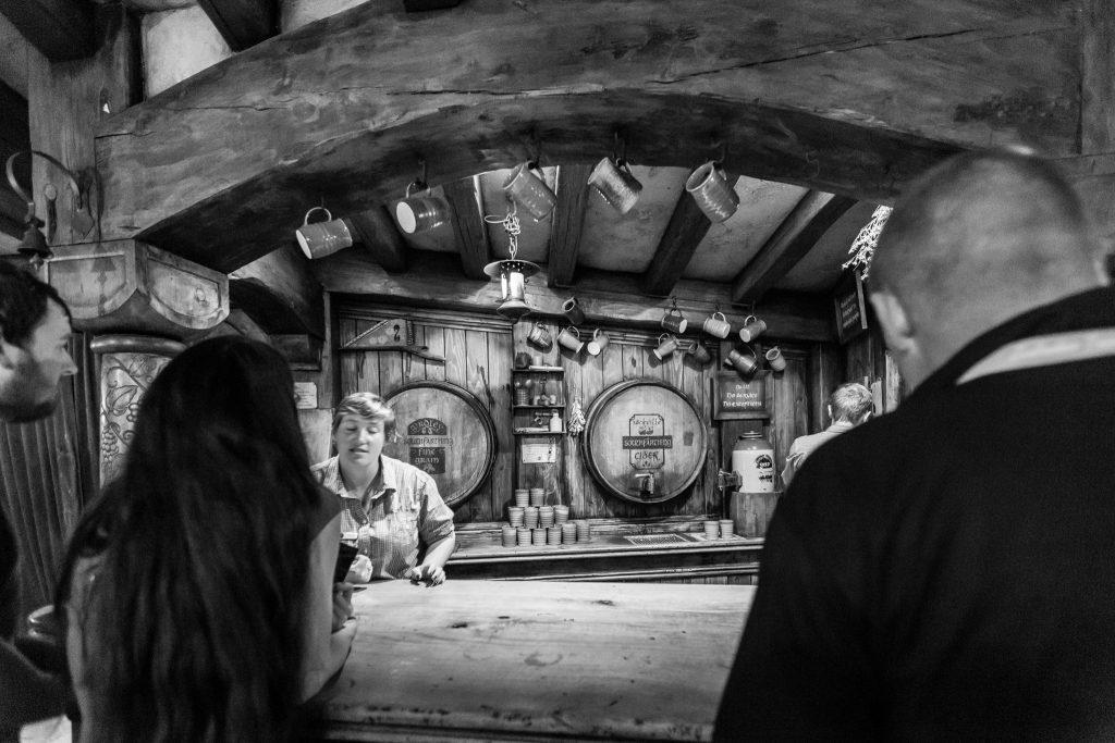 Inside The Green Dragon Pub Hobbiton