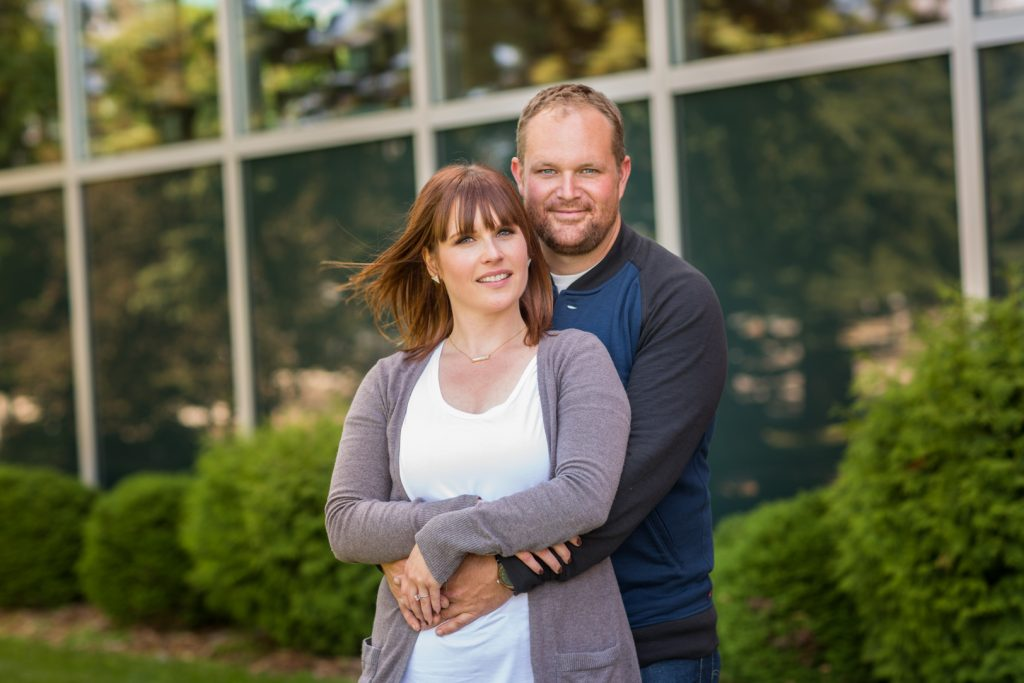 Wetaskiwin city hall portraits for engagement