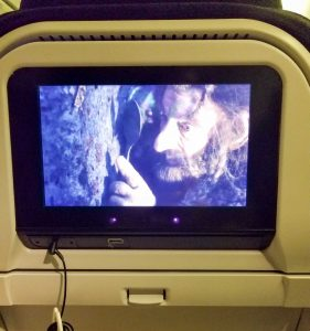 Air New Zealand In Flight Entertainment.