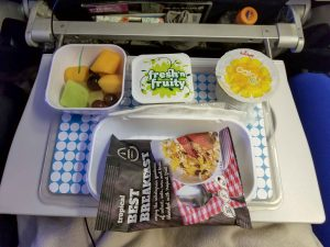 Breakfast on Air New Zealand