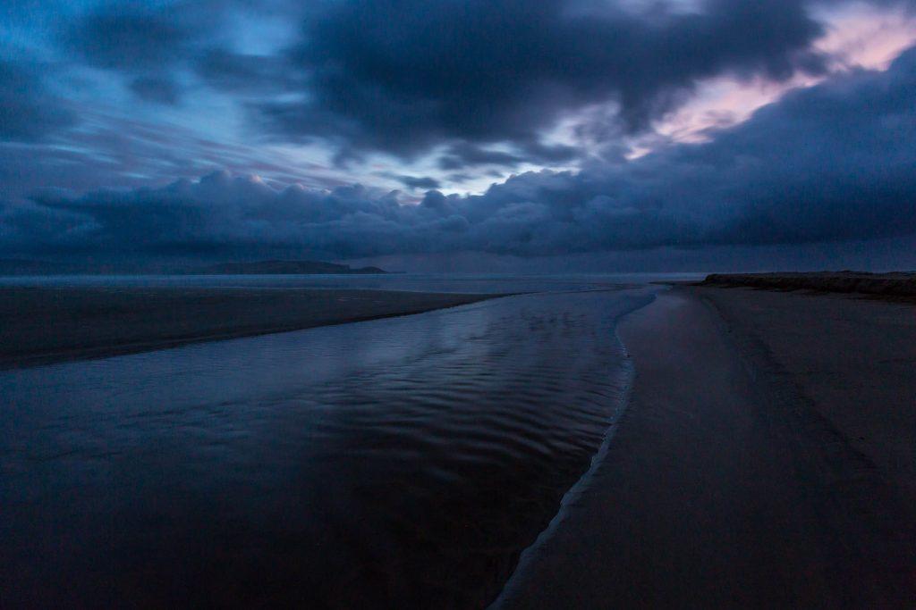 porpoise bay curio bay sunrise picture