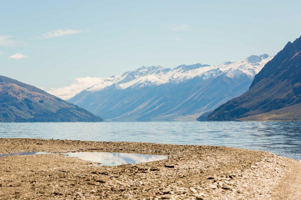 New zealand mountain lakes
