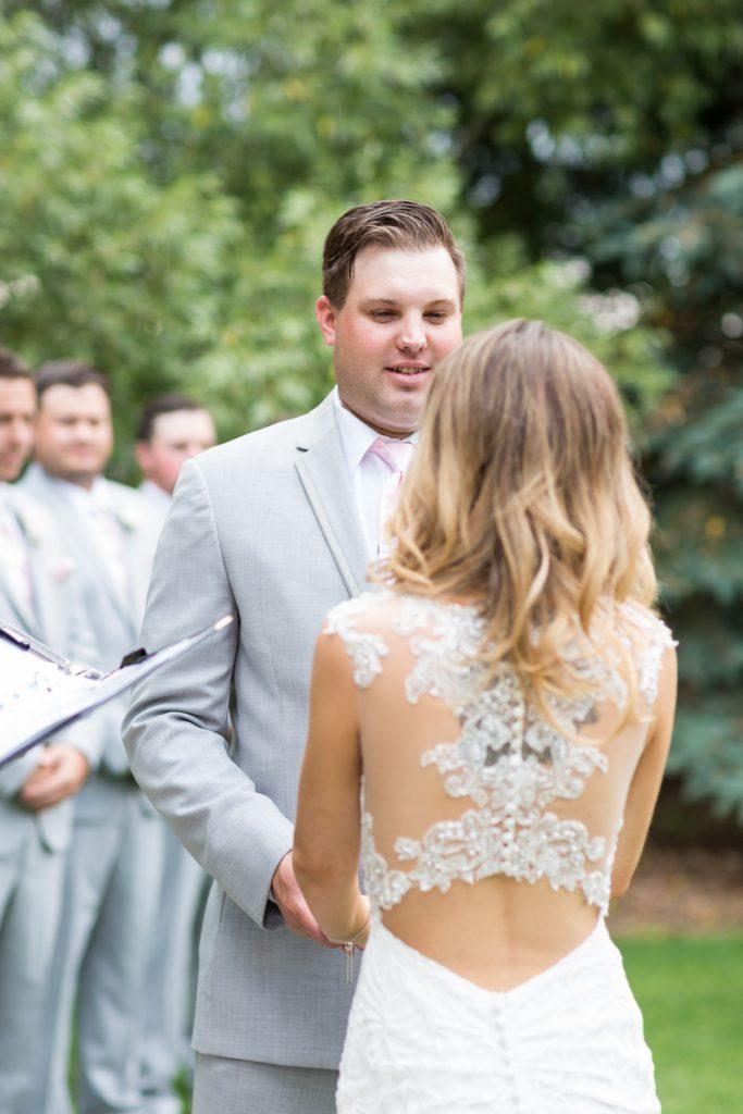 Wedding ceremony Countryside