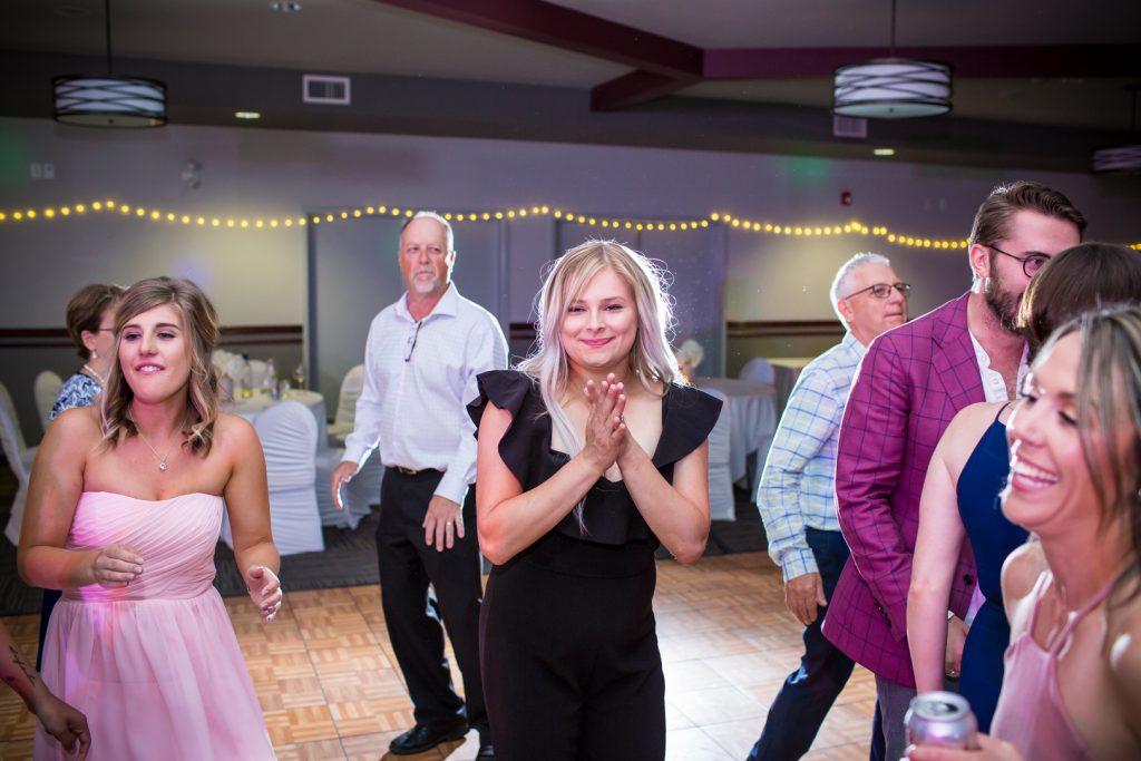 wedding reception photos Quarry Golf club