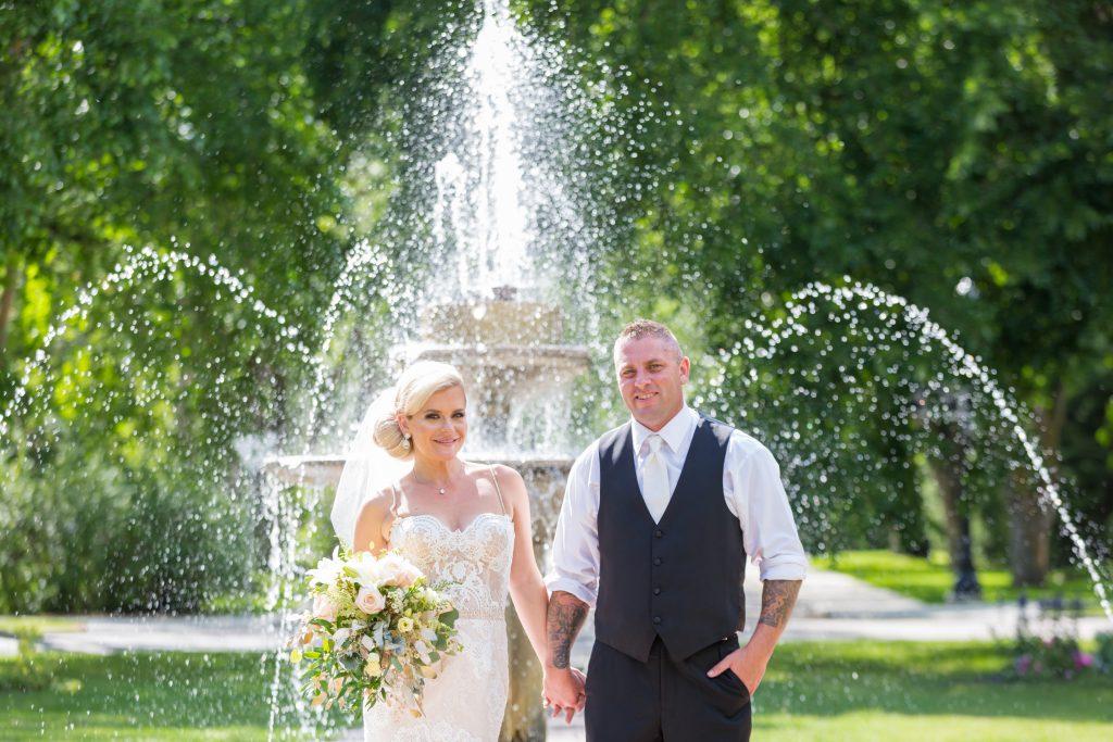 Fountain wedding photos Edmonton